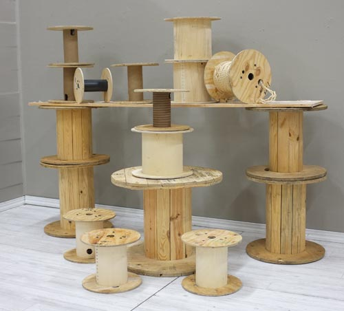 Reinvent Cable Spools As Risers Smart Retailer